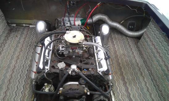Before-Oldsmobile Motor, old interior, old floor, old stringers, old gas tanks...